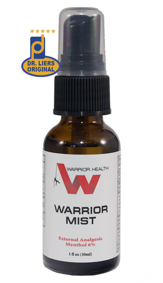 Warrior Mist pain relief formula