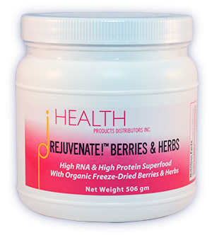 Fred Liers Rejuvenate Berries and Herbs superfood