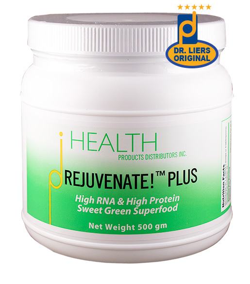 Rejuvenate! plus superfood doctor hank liers original formula dietary RNA