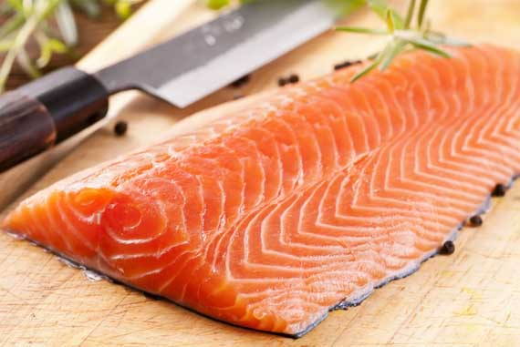 salmon fillet dietary nucleic acids RNA no-aging diet Dr. Benjamin S. Frank