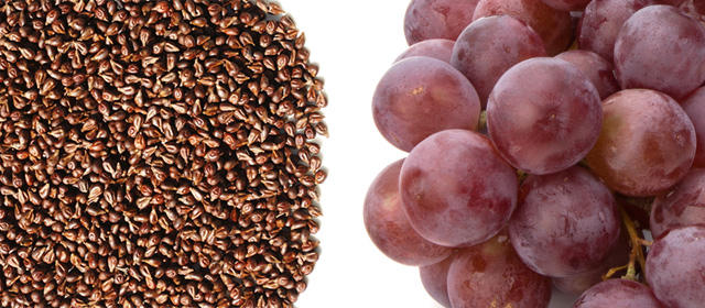 grape and grape seeds
