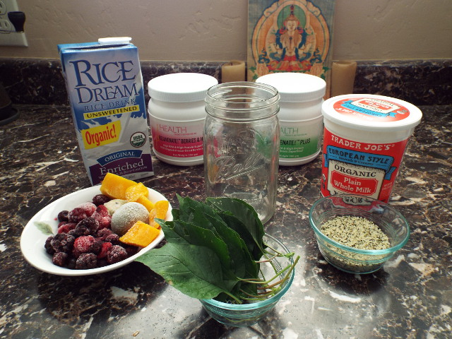 smoothie rejuvenate amaranth