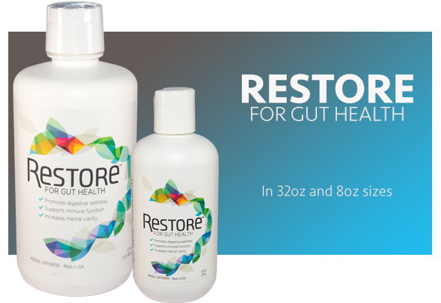 Restore for gut health liquid supplement