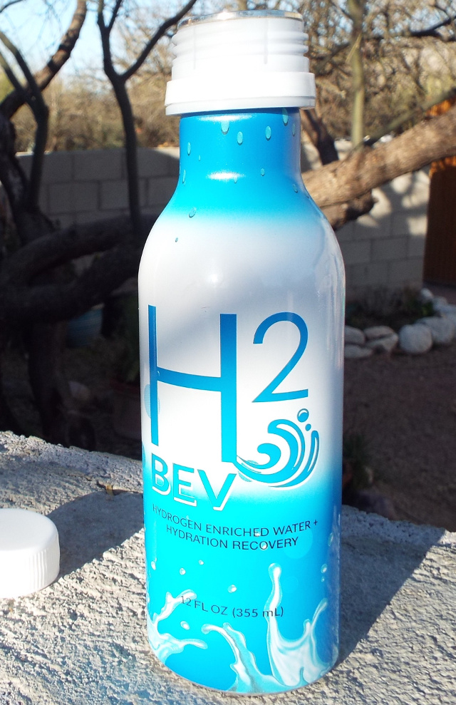 H2Bev molecular hydrogen H2 product bottle
