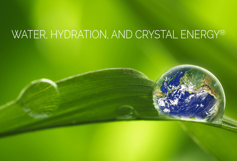 hydration water crystal energy