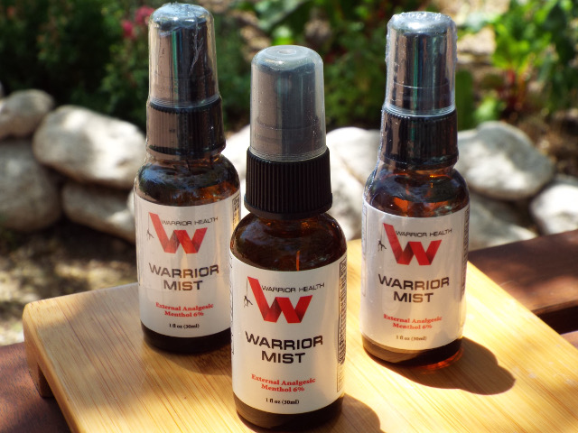 Warrior Mist topical effective pain relief