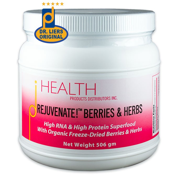 rejuvenate! berries & herbs high-RNA superfood