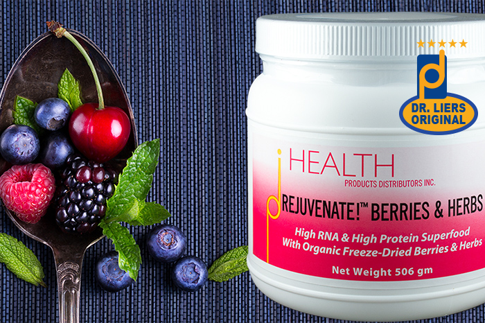 Rejuvenate Berries and Herbs