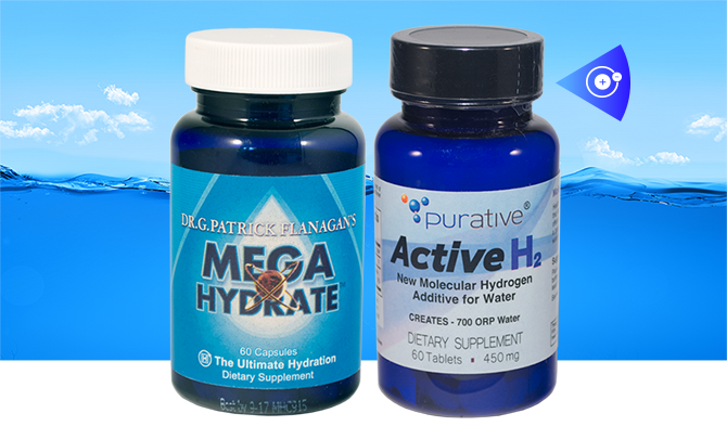 hydrogen supplements megahydrate active H2