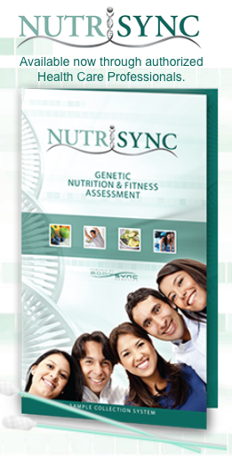Bodysync Nutrisync genetic assessment nutrigenomic testing