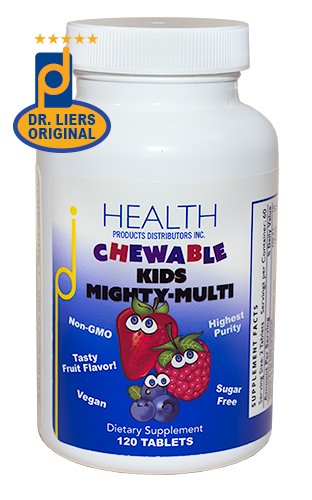 Chewable Kids Mighty-Multi! multivitamin