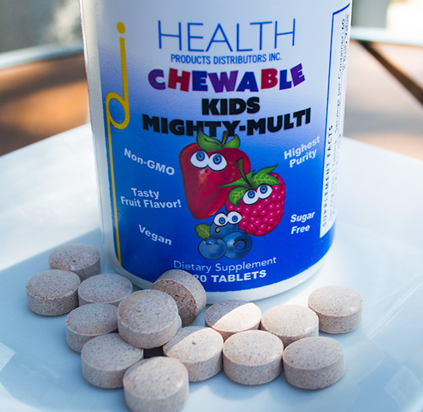 kids mighty multi multivitamin