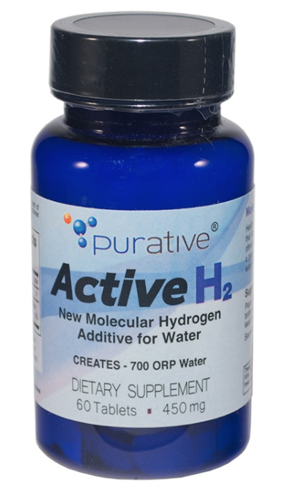 Active H2 molecular hydrogen supplements
