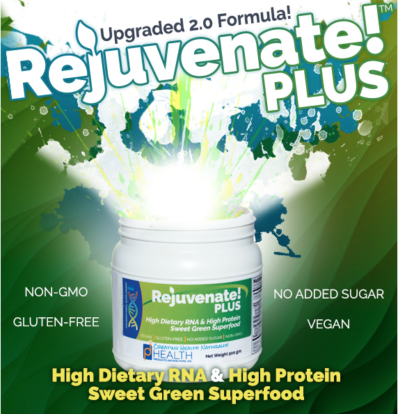 Rejuvenate! Plus sweet green superfood