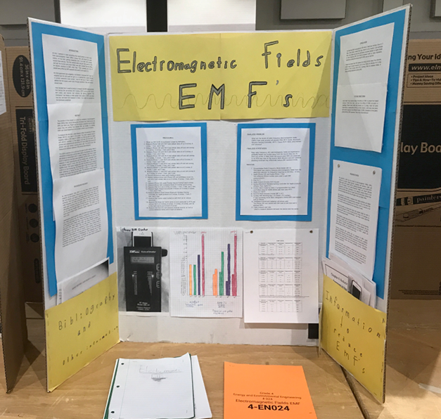 EMF science fair project
