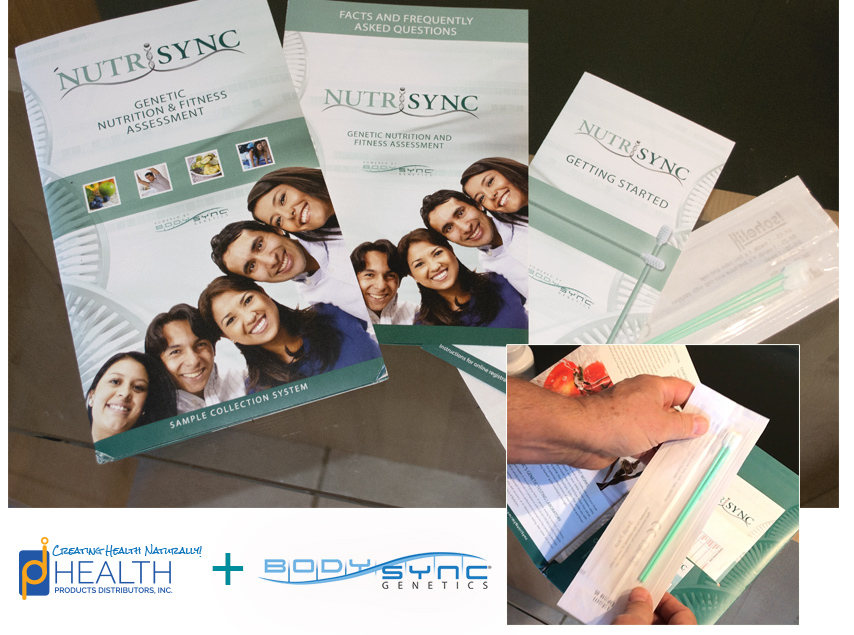The NutriSync test from BodySync genetics